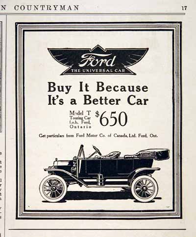 1914 Ford Model T #001680