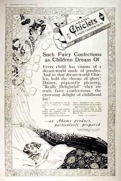 1919 Chicklets Gum #001651