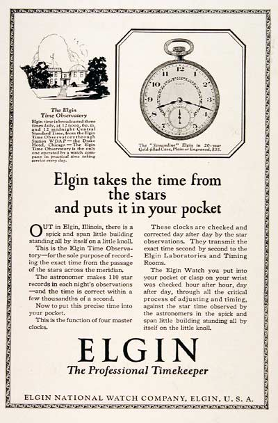 1923 Elgin Streamline #003173