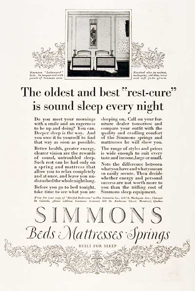 1923 Simmons Beds #003160