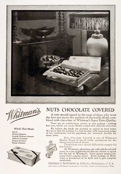 1923 Whitman Chocolates #003156