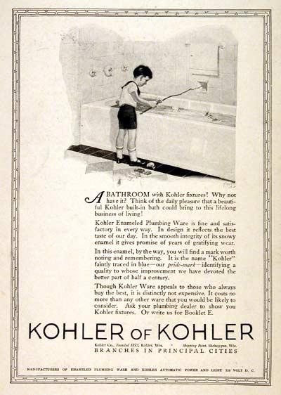 Vintage Bathroom 1924