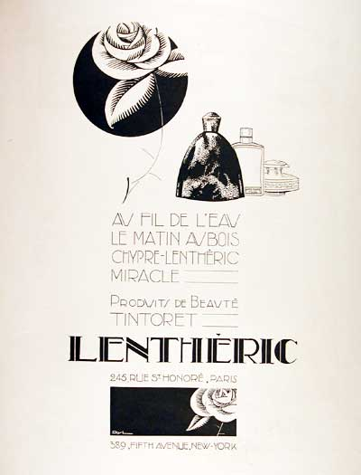 1925 Lentheric Perfume #002803