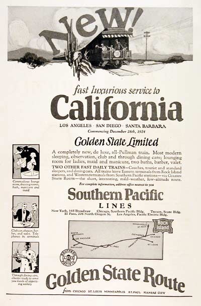 1925 Southern Pacific #003216