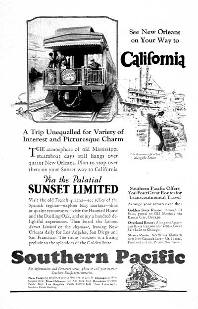 1927 Southern Pacific Railroad #003252
