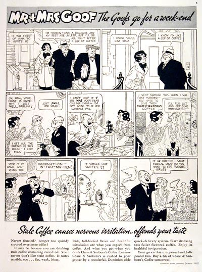 1935 Chase & Sanborn Coffee #007843