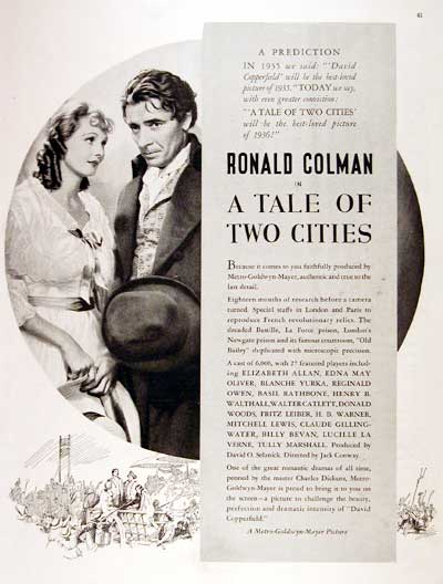 1936 Tale of Two Cities #002769