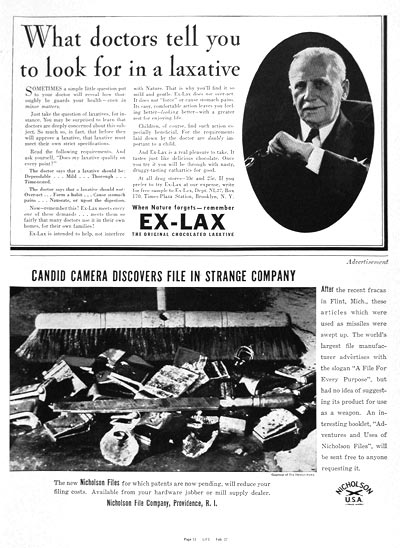 1937 Ex-Lax Laxative #003305