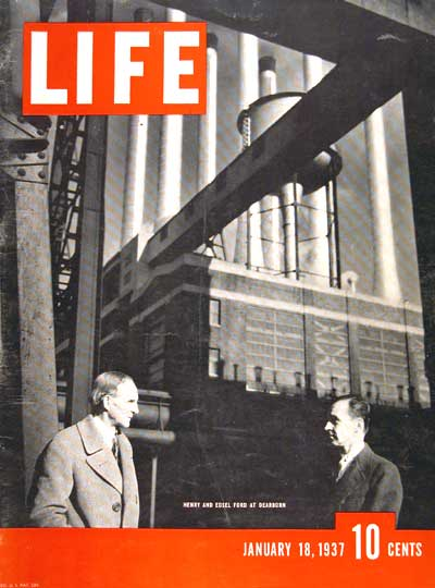 1937 Life Cover Ford #003443