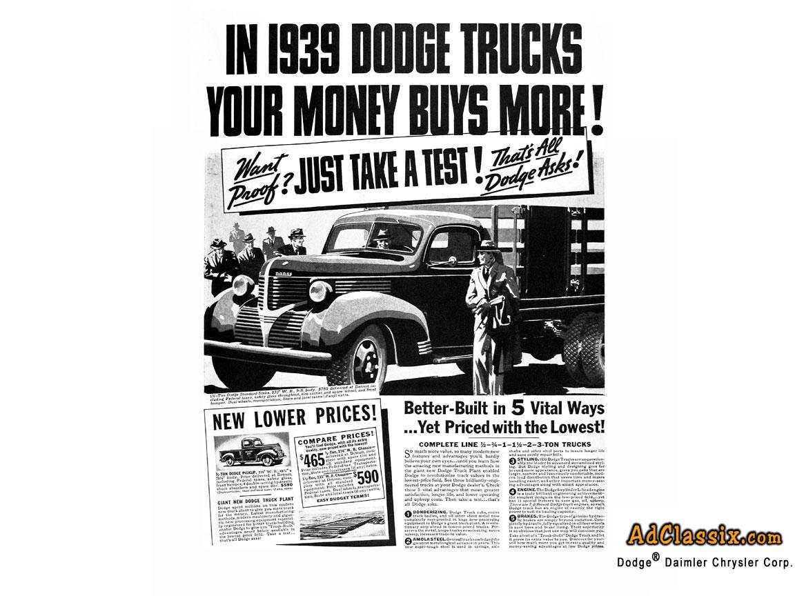 1939 Dodge Truck - Free Retro