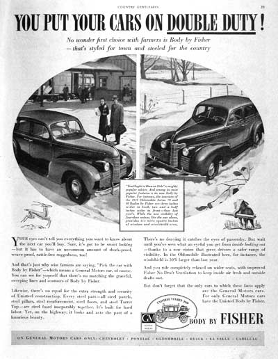 1939 Fisher Body #002393