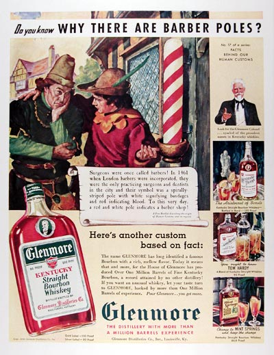 1939 Glenmore Whiskey #024351