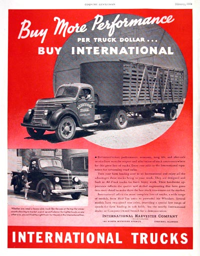 1939 International Trucks