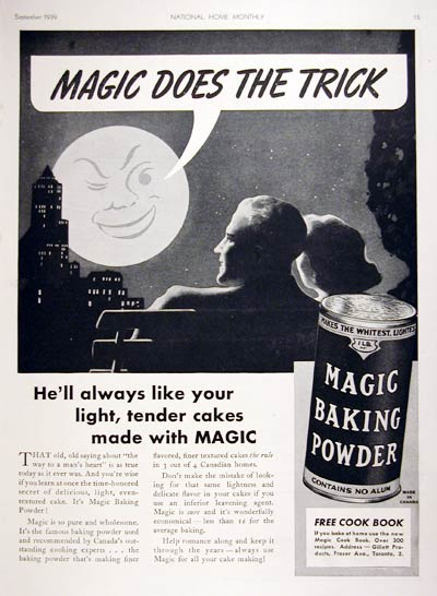 1939 Magic Baking Powder #008086