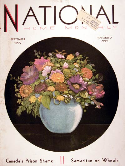 1939 National Home Monthly Cover #008081
