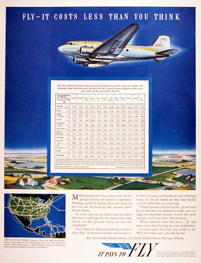 1940 Air Transport Association #006645