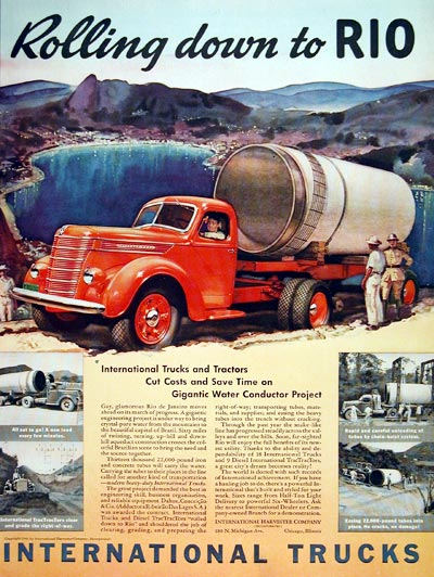 1940 International Trucks #006621