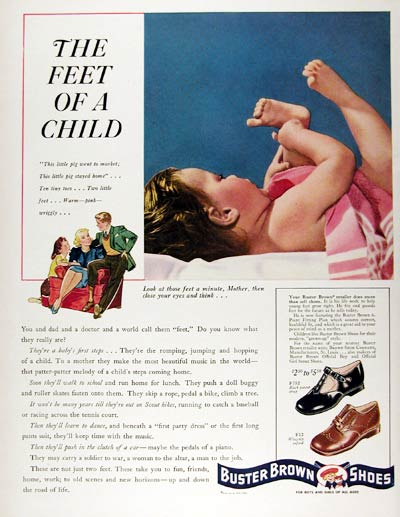 1941 Buster Brown Shoes #008879