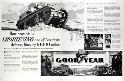 1941 Goodyear Synthetic Rubber #008877