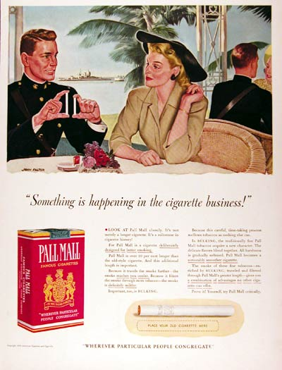 1941 Pall Mall Cigarettes #008894