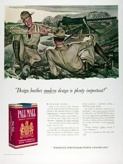 1941 Pall Mall Cigarettes #008966
