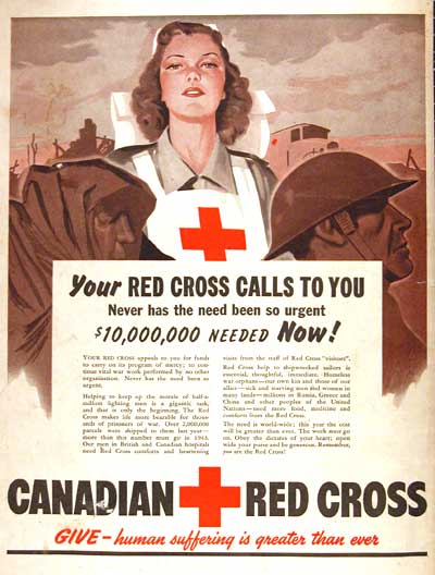 1943 Canadian Red Cross #002779