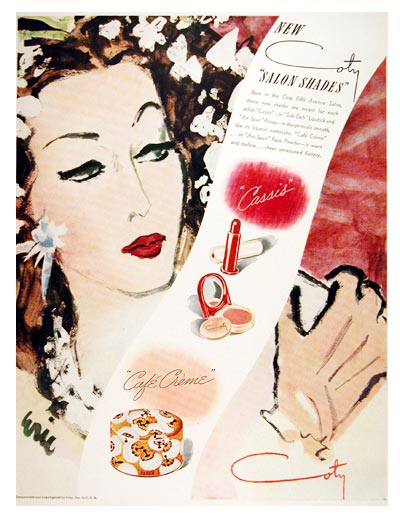 Coty Vintage Ads