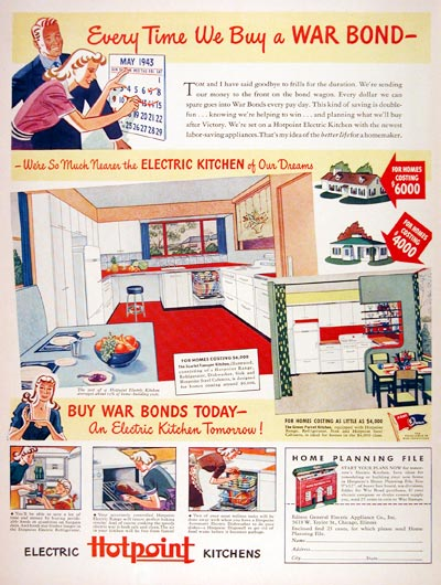 1943 Hotpoint Electric Kitchens #007302