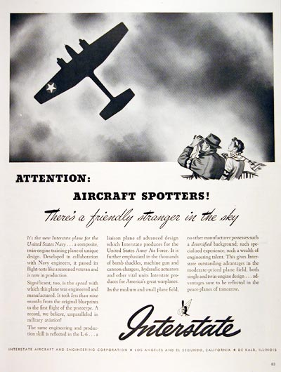 1943 Interstate Aircraft #006903