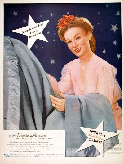 1944 North Star Blankets #007033