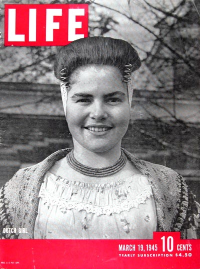 1945 Life Cover - Dutch Girl #024365