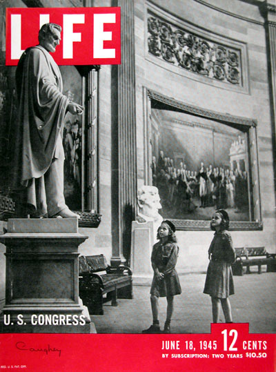 1945 Life Cover ~ U.S. Congress #009701