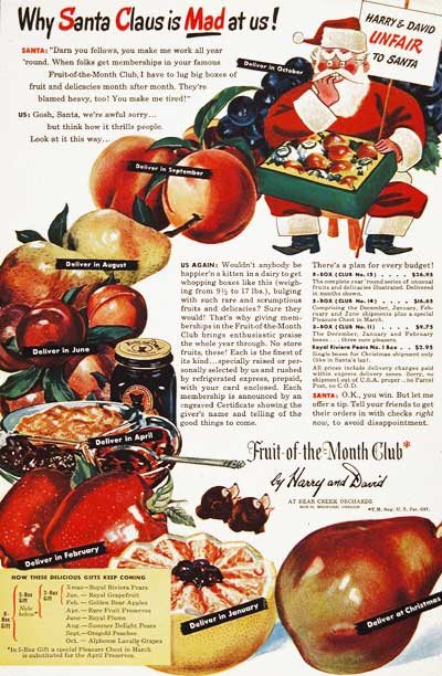 1946 Fruit of the Month Club #003897