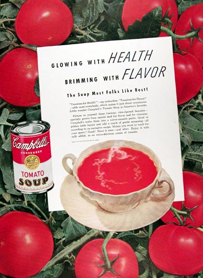 1947 Campbell's Tomato Soup #023835