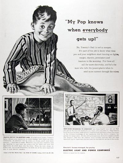1947 Electric Light & Power Co. #009689