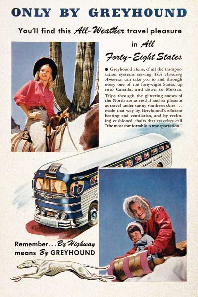 1947 Greyhound Bus #003917