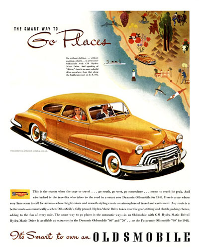 1948 Oldsmobile Coupe Classic Ad #000476