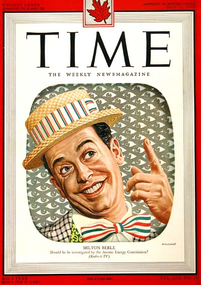 1949 Time Cover - Milton Berle #002887