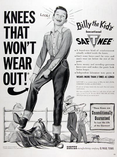 1950 Billy the Kid Jeans #023638