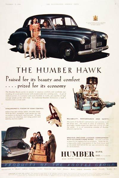 1950 Humber Hawk