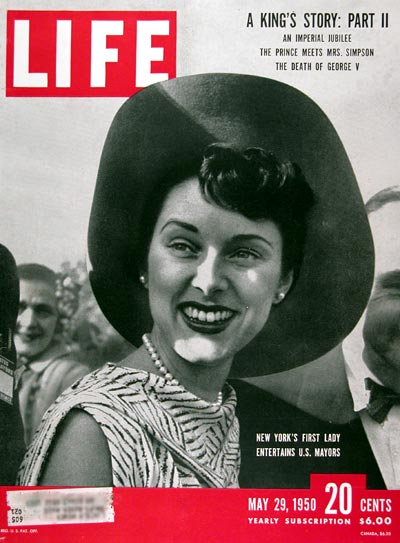 1950 Life Cover ~ Mrs. Sloan O'Dwyer #024403