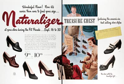 1950 Naturalizer Shoes #023675