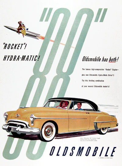 1950 Oldsmobile 88 Holiday Coupe #023624