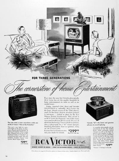 1950 RCA Victor Entertainment #024411
