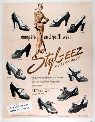 1950 Selby Shoes