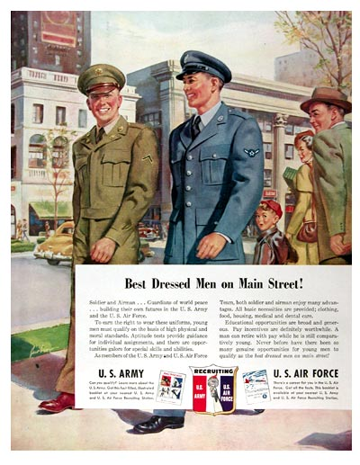 1950 U.S. Army Air Force Recruitment #023710