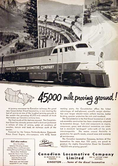 1951 CDN Locomotive #002927