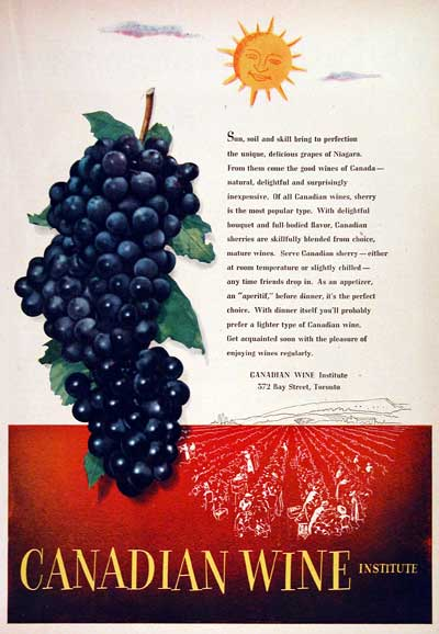 1951 Canadian Wine Institute #002920