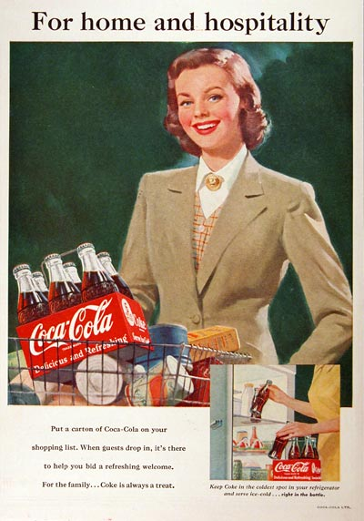 Full Page Old Fashion Coke Ad