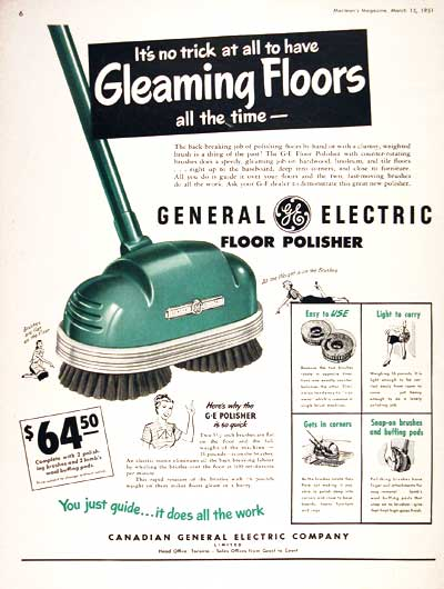 1951 GE Floor Polisher #002403